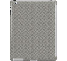 Silver Metal Grid Pattern iPad Case/Skin