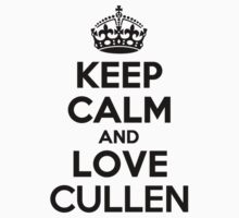 Keep Calm and Love CULLEN Kids Clothes