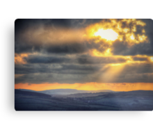 Conrhenny Sunset Metal Print