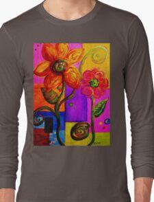 FANTASY FLOWERS Long Sleeve T-Shirt