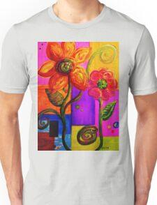 FANTASY FLOWERS Unisex T-Shirt
