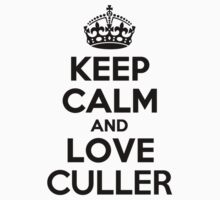 Keep Calm and Love CULLER Kids Clothes