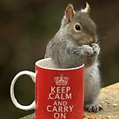 Keep Calm and Nibble Nuts by brianfuller75