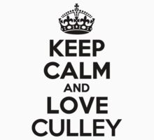 Keep Calm and Love CULLEY Kids Clothes