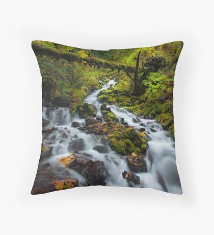 Fairytale Creek Throw Pillow