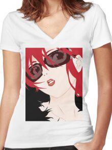 Yoko Women's Fitted V-Neck T-Shirt