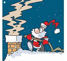 Fireman Santa by Karl Dixon