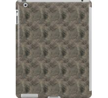 Scratched Silver Metal iPad Case/Skin