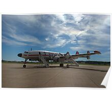 Lockheed Constellation Super G Poster