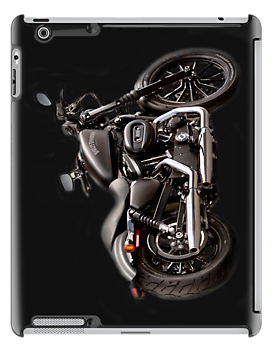 Harley Ipad case by Irene  Burdell