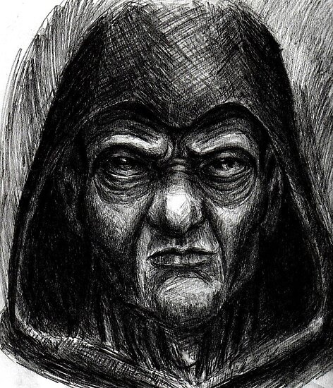 Emperor Palpatine sketch by Matt Morrow