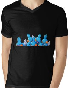 Bundle of Mudkips  Mens V-Neck T-Shirt