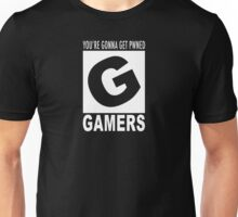 Gamers rating Unisex T-Shirt
