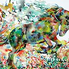 HORSE PAINTING.1 by lautir