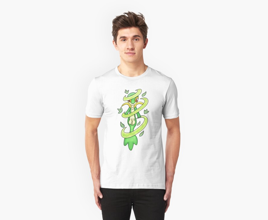 Pokemon Snivy Leaf Storm by Ozone Clothing
