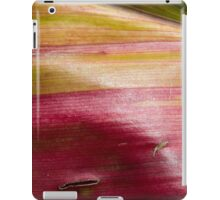 Red Green Yellow Hawaiian Leaf iPad Case/Skin
