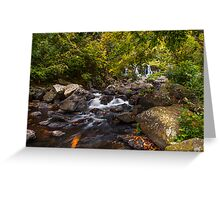 Waterfalls of Eureka. Mauritius Greeting Card
