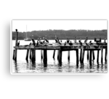 Party Time On the Pier Canvas Print