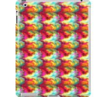 Rainbow Dots Against Colors iPad Case/Skin