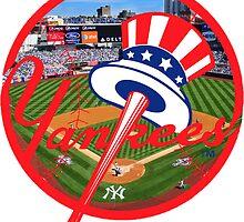 New York Yankees Stadium Logo by Jacob Sorokin