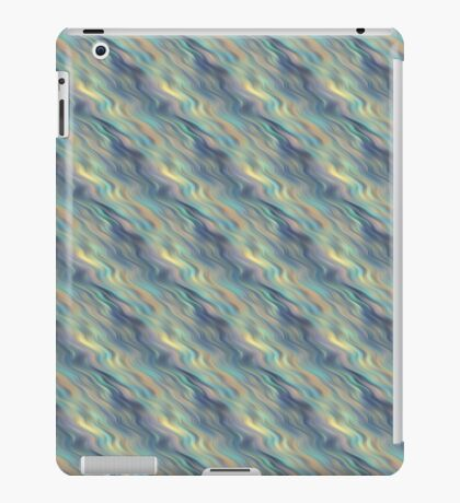 Pastel Currents Abstract iPad Case/Skin