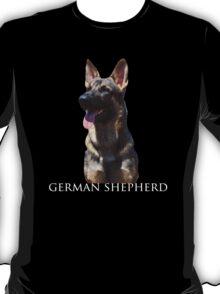 German Shepherd Dog - Dark Colours T-Shirt