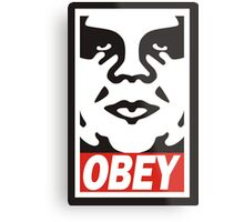 Obey The Giant Metal Print