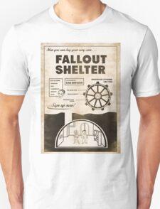 Fallout Shelter Propaganda Poster T-Shirt