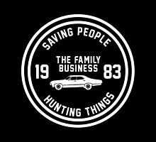 Supernatural - The Family Business by sittingdowntype