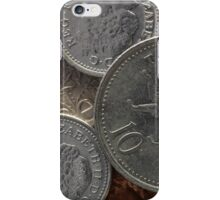 POUND COINS iPhone Case/Skin