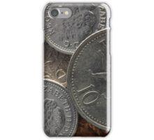 POUND COINS iPhone Case/Skin