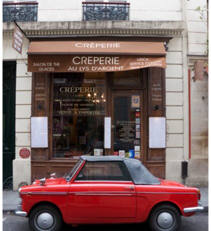 Autobianchi in Paris Sticker