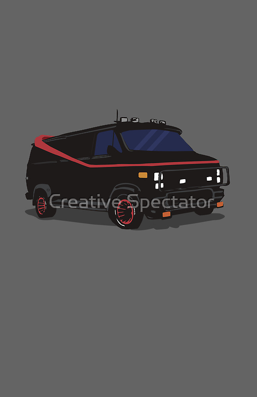 The A-Team Van  by Creative Spectator