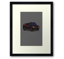 The A-Team Van  Framed Print
