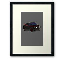 The A-Team Van  Framed Print