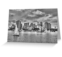Historical Boston Greeting Card