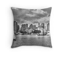 Historical Boston Throw Pillow