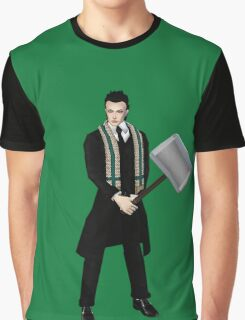 Hiddles has the hammer Graphic T-Shirt