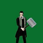 Hiddles has the hammer by YodaWars