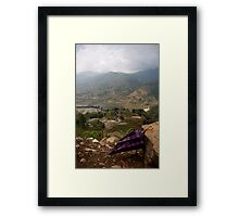 Vietnam Umbrella  Framed Print