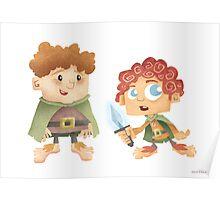 Sam & Frodo Poster