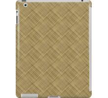 Light Basket Weave iPad Case/Skin