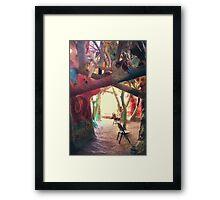 Toward the Light Framed Print