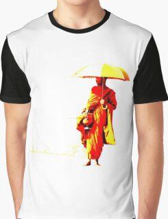 Cambodian Buddhist Monk Graphic T-Shirt