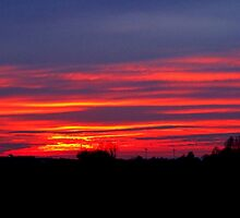 Sunset 17.02 uur by hanslittel