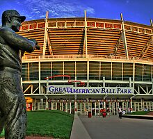 Great American Ballpark by Morgan Wright