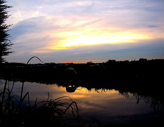 Sunset 16.20 uur by hanslittel