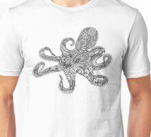 Doodle Octopus Unisex T-Shirt
