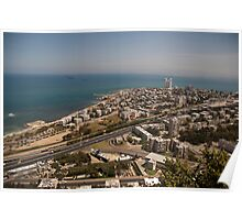 Haifa from Above Poster