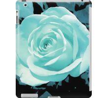 blue rose flower i pad case iPad Case/Skin